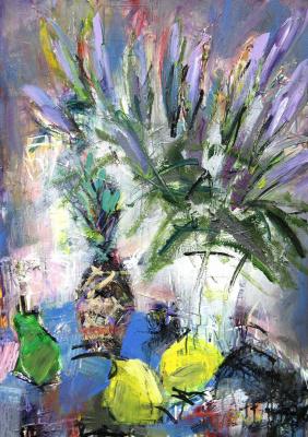 Ilya Pavlovich Spichenkov. Unopened lilies