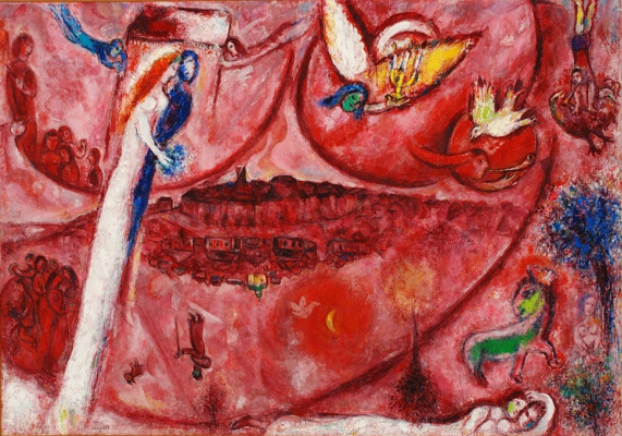 Marc Chagall. Song of songs III