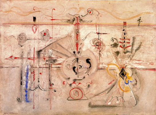Rothko Mark. Archaic idol