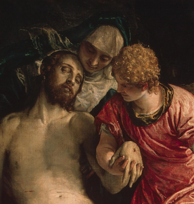 Paolo Veronese. Lamentation of Christ. Fragment