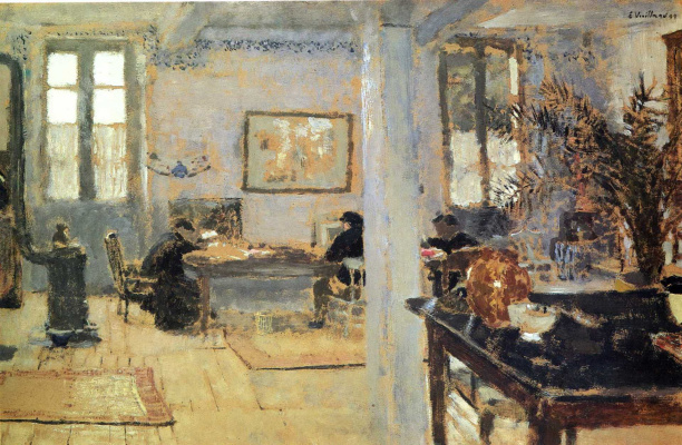 Jean Edouard Vuillard. Noon in the room