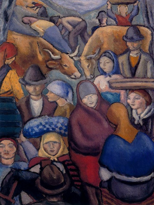 Arturo Souto. People and animals