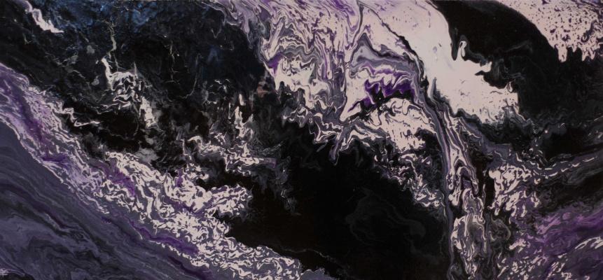 "Alla Struchayeva. Painting ""Amelia's Dream"""