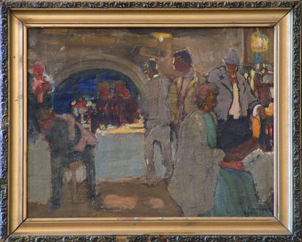 Alexander Vissarionovich Chinas. Theater bar.