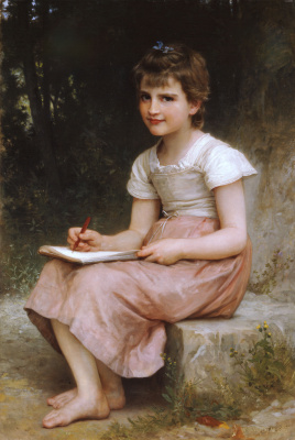 William-Adolphe Bouguereau. Letter