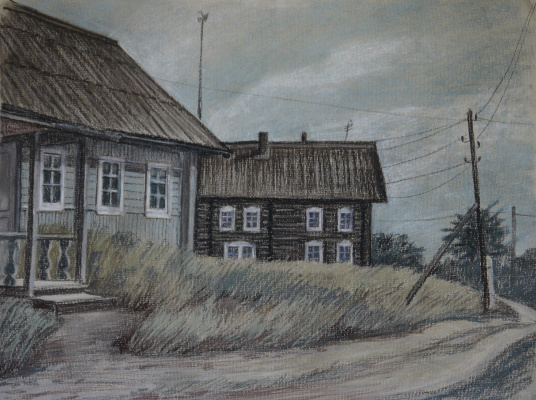 Irina Soboleva. Village street