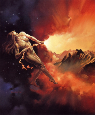 Boris Vallejo (Valeggio). Dawn