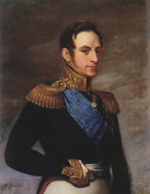 Vasily Andreevich Tropinin. Portrait Of Nicholas I