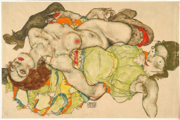 Egon Schiele. Mistress