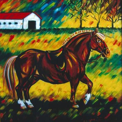 Margarita Anatolievna Chakova. Dream pony