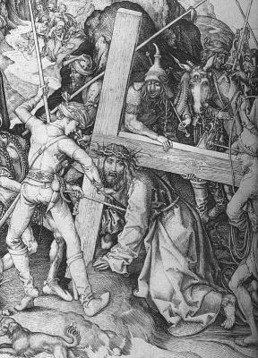 Martin Schongauer. Cross