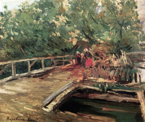 Konstantin Korovin. Bridge