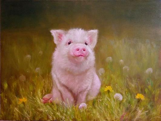 Anastasia Arsenova. Nyusha the piglet