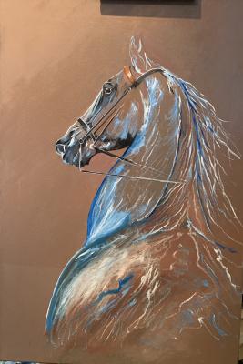 Aram Marinosyan. Horse