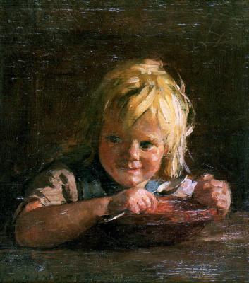 Хендрик Ян Вольтер. Питание ребенка