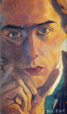 Max Ernst. Self-portrait