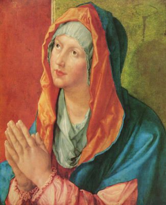Albrecht Durer. Virgin Mary praying