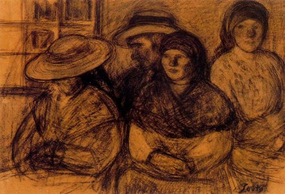 Arturo Souto. Men and women