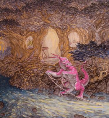 Роб Браун. Розовый дракон
