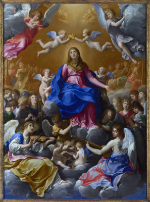 Guido Reni. The Coronation Of The Virgin Mary