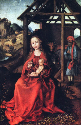 Martin Schongauer. Maria