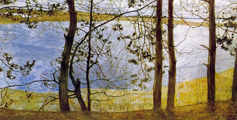 Isaac Brodsky. Through the branches