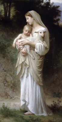William-Adolphe Bouguereau. Innocence