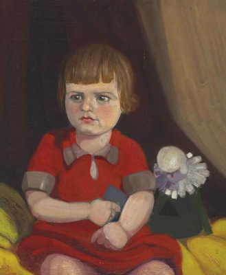 Willem de Kuning. Portrait Of Rene