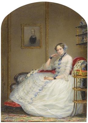 Кристина Робертсон. Императрица Александра Федоровна . 1851
