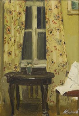 Гелий Михайлович Коржев. Стол у окна