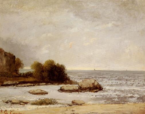 Gustave Courbet. Marine de Saint-Aubin