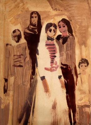 Арби Абдул-Каримович Рассуханов. Чеченские женщины