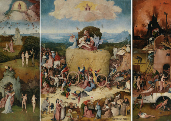 Hieronymus Bosch. The hay