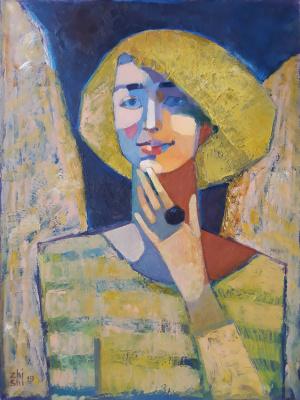 Elena Valeryevna Shipilova. IR portrait