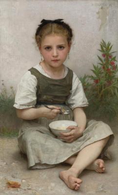 Вильям Адольф Бугро. Завтрак