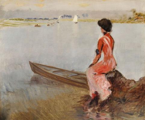 Джузеппе де Ниттис. На озере