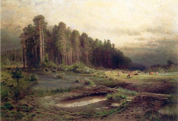 Лосиный остров в Сокольниках