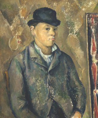 Paul Cezanne. The portrait of Paul, the artist's son
