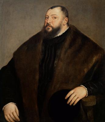 Titian Vecelli. Portrait of Grand Duke Johann Friedrich of Saxony