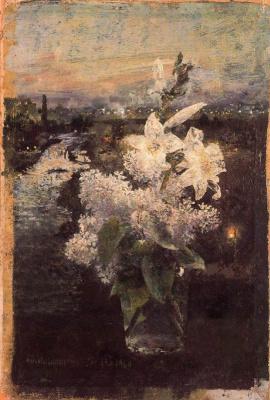Антонио Лопес Гарсия. Цветы в вазе