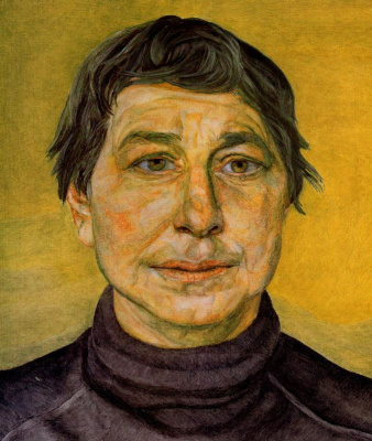Lucien Freud. The artist