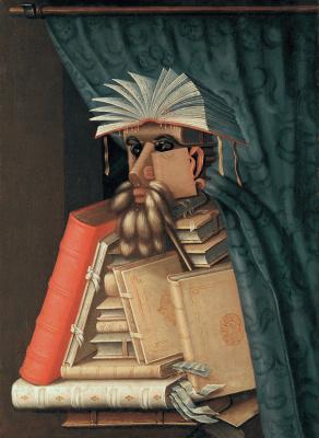 Джузеппе Арчимбольдо. Библиотекарь
