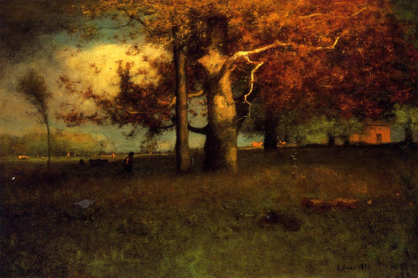 George Innes. Early autumn, Montclair