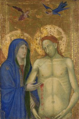 Флорентийский Итальянский. Мертвый Христос и Дева