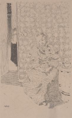 Jean Edouard Vuillard. Interior
