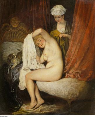 Antoine Watteau. Morning toilet