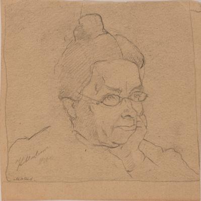 Kazimir Malevich. Mother's portrait