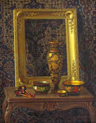 Николай Павлович Ерышев. Still life with an old frame