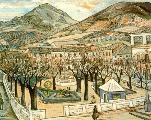 Рафаэль Сабалета. Сад Кесада зимой