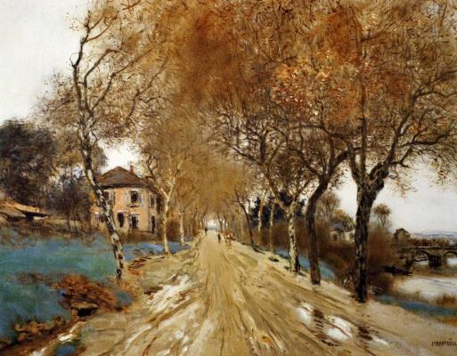 Жан-Франсуа Рафаэлли. Аллея летящих деревьев
